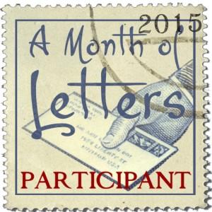 A month of letters 2015 participant