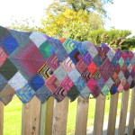 Blanket on the fence